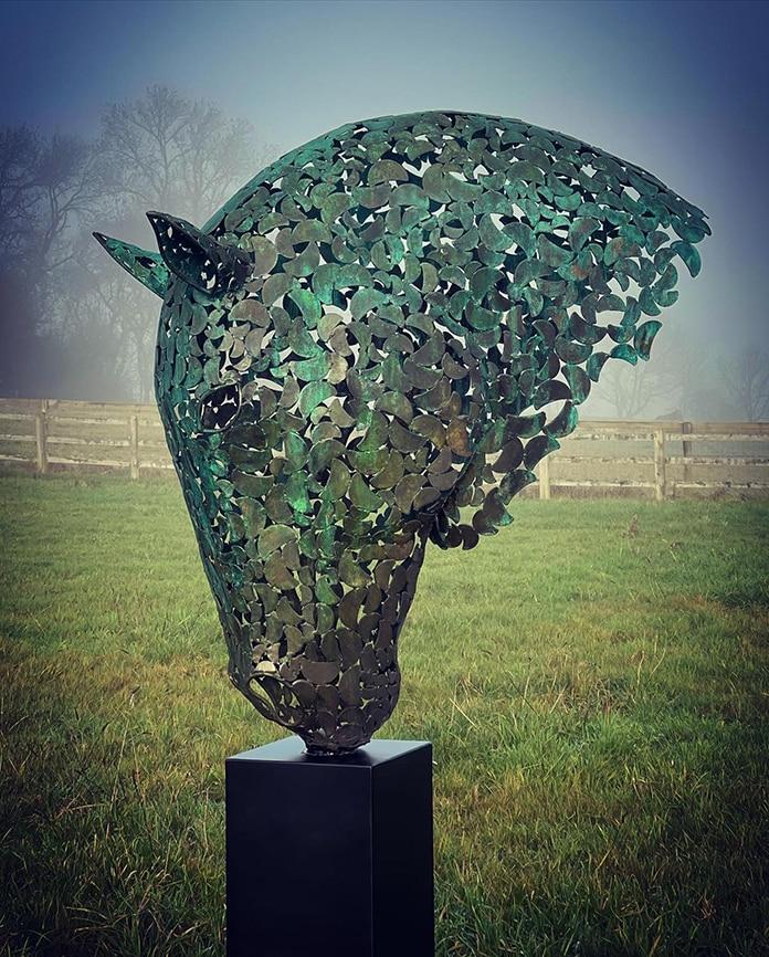 Elliott Of London Horse Head Bronze Edition.jpg
