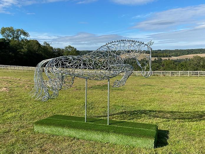 Elliott Of London Thoroughbred Horse Sculpture