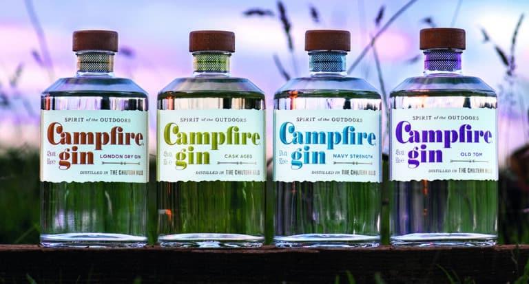 The Award Winning Campfire Gin